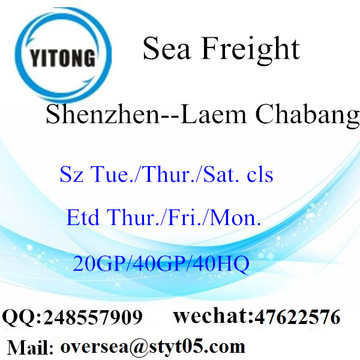 Shenzhen Port Sea Freight Shipping To Laem Chabang