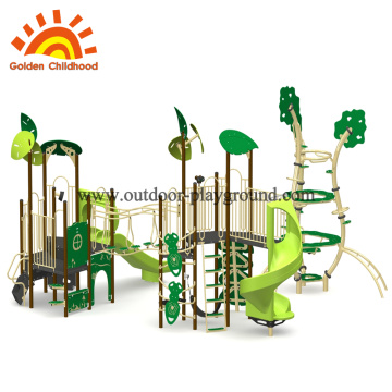 Cute Jungle Outdoor Playground Equipment For Sale
