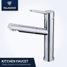Grand Deck Mounted Pullout Spray Kitchen Tap Faucet