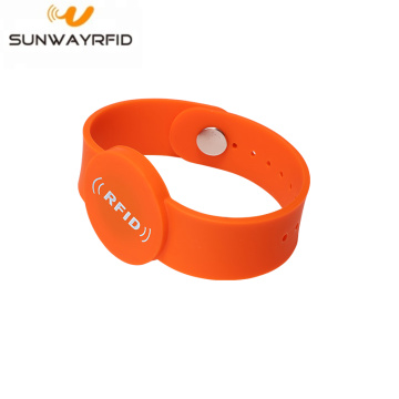 Cheap Price Anti-Tamper  Silicone NFC RFID Wristband