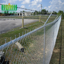 8 gauge chain link fence