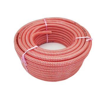 Weaved polyester transparent surface spray hose