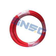 Shacman Truck Parts KZG-6MM-R Red Pipe 6MM SNSC