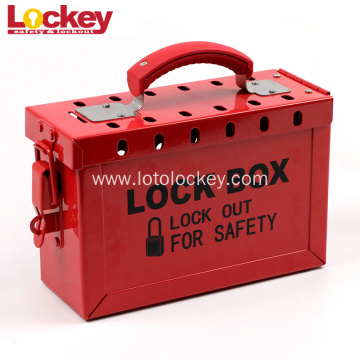 Portable Steel Safety Loto Group Lockout Tagout Box