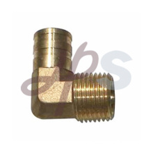 Brass 90 male thread elbow pipe coupling H889