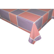 Elegant Tablecloth with Non woven backing Pvc Sheet
