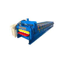840mm glazed and trapezoidal roll forming machine