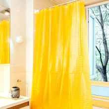 China for Clear Shower Curtain Shower Curtain PEVA Classic Yellow supply to Ethiopia Factories