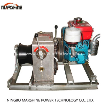 Wholesale Distributors for Engine Power Winch,Gas Powered Winch,Portable Winch Manufacturers and Suppliers in China Heavy Duty Cable Pulling Winch export to United States Factories