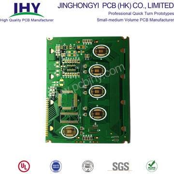 Quick Turn 6 Layer FR4 PCB Prototyping Fabrication