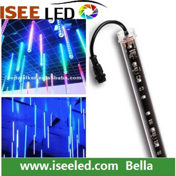 Led pixel meteor shower tubes