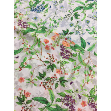 Rayon Voile 60S Printing Woven Fabric