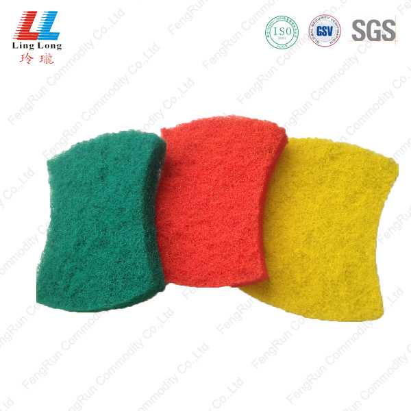 Thick waist Scouring cloth cleaning pad