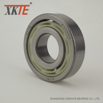 Nylon Bearing 6306 TN9 For Conveyor Roller