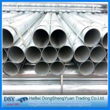 Round Galvanized Tube with EN39 Standard