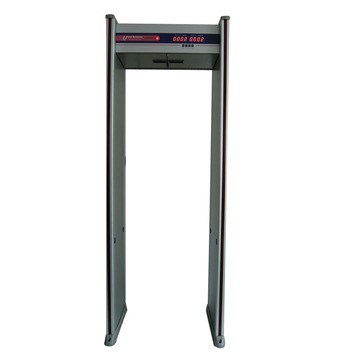 Customized for Intelligent Door Frame Metal Detector doorframe walk through metal detector supply to Japan Manufacturer