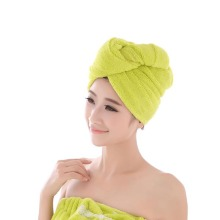 cheap absorbent women's hair towel