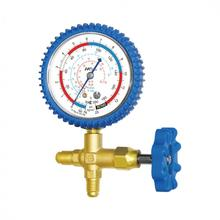 Brass single manifold gauge CT-466