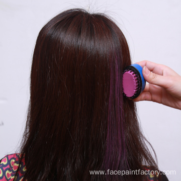 Portable round Temporary Hair chalk for hair coloring