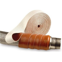 Silicone fiber glass hose fire sleeves