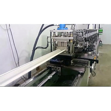 High speed rolling shutter door making machine