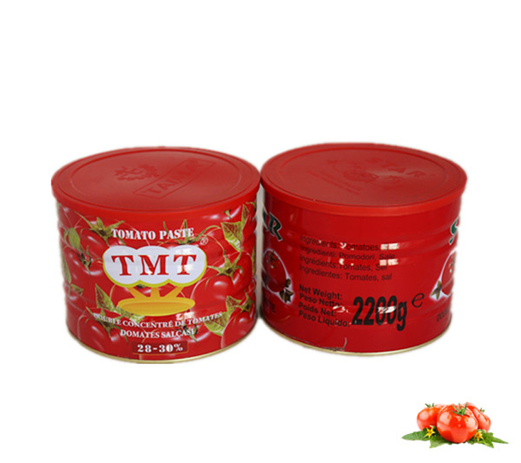 2200g GINNY Tomato paste for Togo