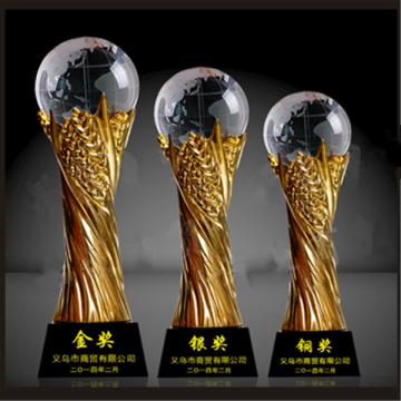 Fantasy 3D Crystal Ball Trophy Awards