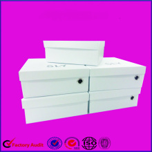China New Product for Children Shoe Box White Hard Paper Box Printing supply to Guatemala Factory