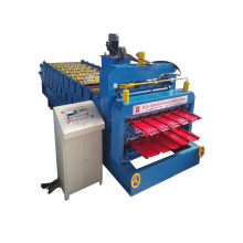 Double Deck Glazed Tile Roll Forming Machine