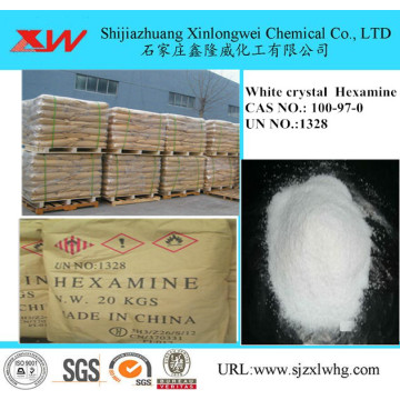 White Crystal Hexamine as Antiseptic