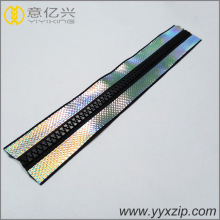 Locking Head Resin Reflective Tape Waterproof Zippers