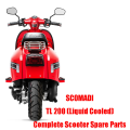 SCOMADI REAR LIGHT TL50 TL125 TL200 Rear Light Parts Original Quality