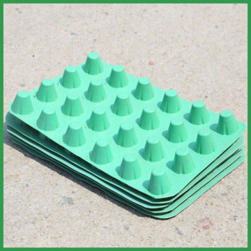 Top for Huatao Supply all kinds of Drainage Composites products from china,Drainage Mat,Draining Board,Drainage Composite,Drainage Panels HDPE waterproof drainage dimple board export to Germany Wholesale