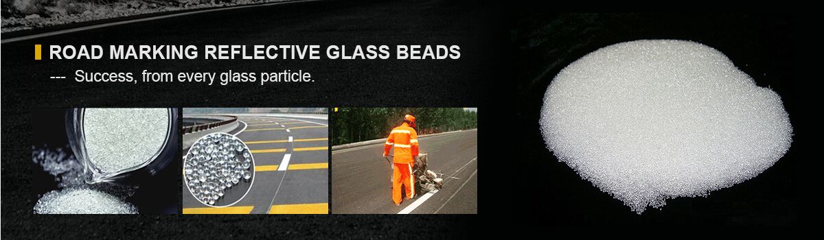 road marking glass beads