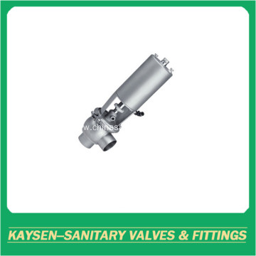 SMS/ISO/IDF Sanitary pneumatic shut off seat valve