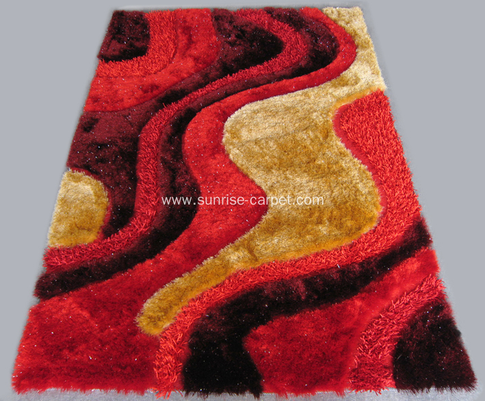 Royal Shaggy with Design Rug
