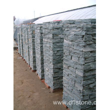 High Quality for Retaining Wall Caps Gray natural slate modular pillar export to Netherlands Manufacturers