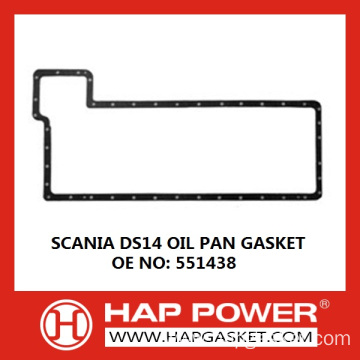Factory Price for Non Asbestos Oil Pan Gasket SCANIA DS14 OIL PAN GASKET 551438 supply to Nauru Wholesale