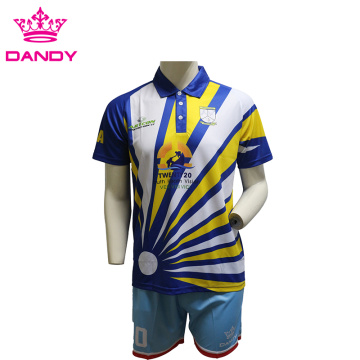 Palasik Shortized Lengan Panjang Polo Shirt