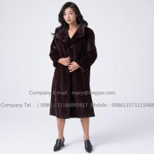 Good quality 100% for Mink Wind Coat Kopenhagen Reversible Mink Fur  Overcoat export to United States Exporter