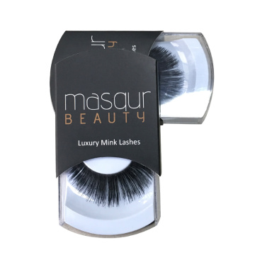 Luxury Black cosmetic eyelash packaging box