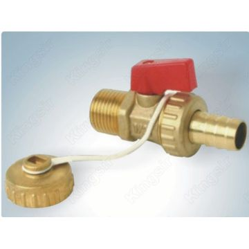 Brass isolated ball valve