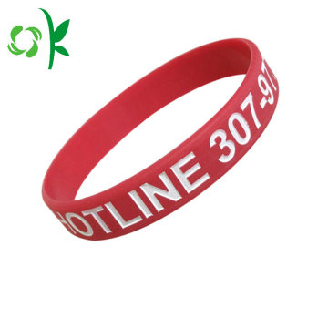 Capital Letter Engraved Bracelet Fashion Silicone Sportstrap