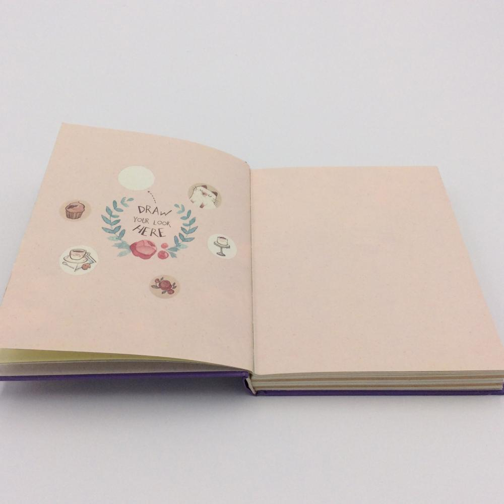 Paper simple cartoon notebook