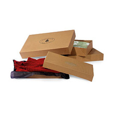 Wholesale custom printed retail apparel boxes for clothing