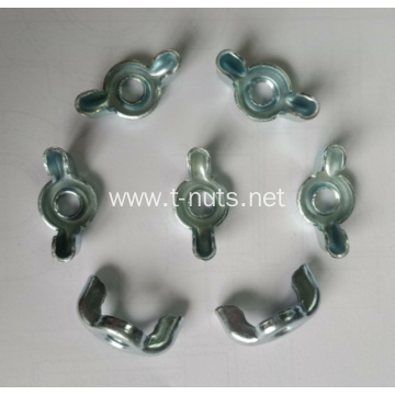 Carbon Steel Full Thread Wing Nuts