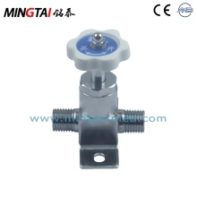 Manual shut off valve for clinic