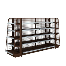 China for Metal Gondola Shelving Retail Gondola Display Shelving export to Guam Wholesale