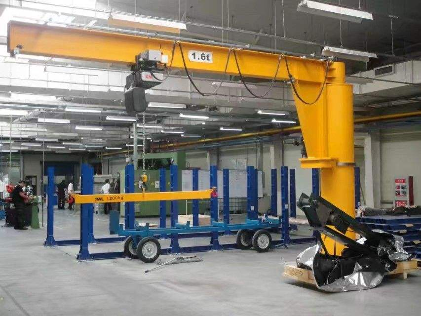 High Efficient Construction 16 T Electric Hoist Fixed Cantilever Crane Price With Hoist