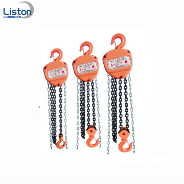 10T Hand-operated chain hoist for warehouse handling